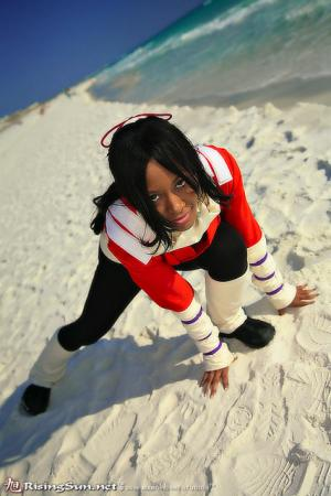 Yoruichi Shihouin from Bleach worn by Blikku