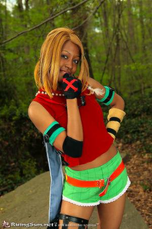 Rikku from Final Fantasy X worn by Blikku