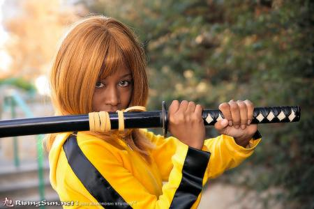 The Bride from Kill Bill worn by Blikku