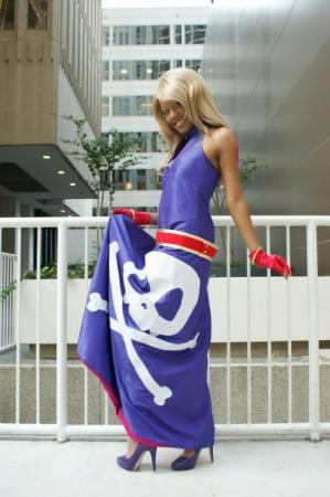 Bonne Jenet from Garou: Mark of the Wolves worn by Blikku