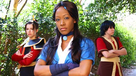 Katara from Avatar: The Last Airbender worn by Blikku