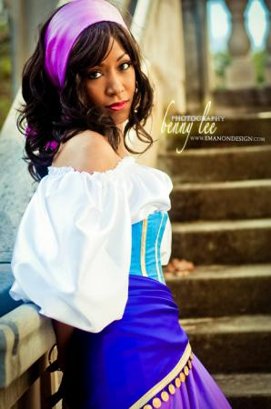 Esmeralda from Hunchback of Notre Dame worn by Blikku