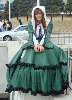 Suiseiseki from Rozen Maiden worn by jellybooger