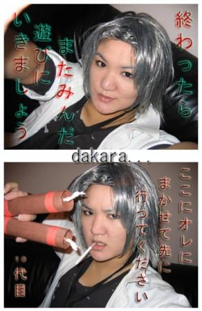 Hayato Gokudera from Katekyo Hitman Reborn! worn by jellybooger