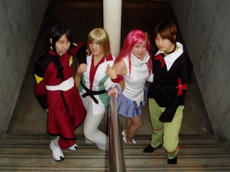 Cagalli Yula Athha from Mobile Suit Gundam Seed Destiny worn by jellybooger