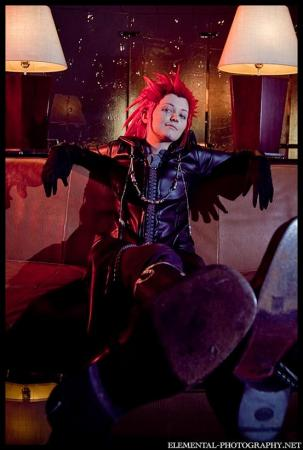 Axel from Kingdom Hearts 2 (Worn by Tobie Jade)