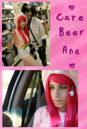 Cheer Bear from Care Bears worn by MangaFreak150