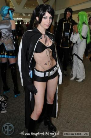 Black Rock Shooter from Black Rock Shooter