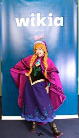 Anna from Frozen worn by Momo Kurumi