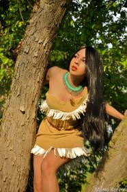 Pocahontas from Pocahontas worn by Momo Kurumi