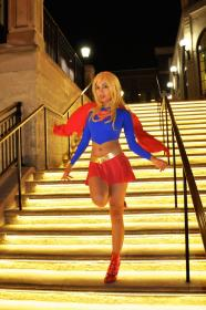Supergirl from Justice League worn by Momo Kurumi