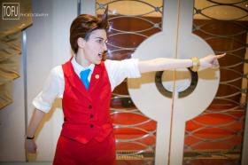 Apollo Justice from Apollo Justice: Ace Attorney worn by RedKat