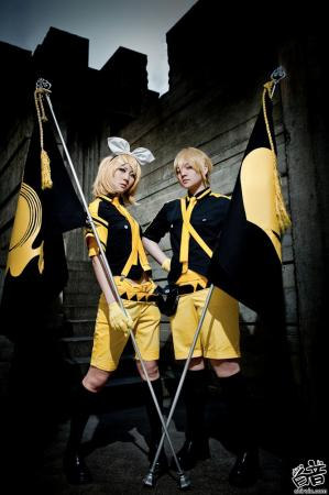 Kagamine Len from Vocaloid 2 worn by Rai Kamishiro