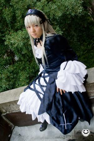 Suigintou from Rozen Maiden worn by Rai Kamishiro