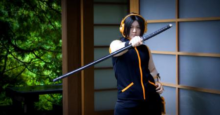 Yoh Asakura from Shaman King worn by Raikapon