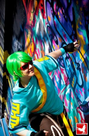 Yoyo from Jet Set Radio Future worn by Rai Kamishiro