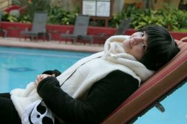 Panda from Polar Bear Cafe worn by Rai Kamishiro