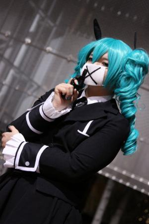 Hatsune Miku from Vocaloid 2 worn by Rai Kamishiro