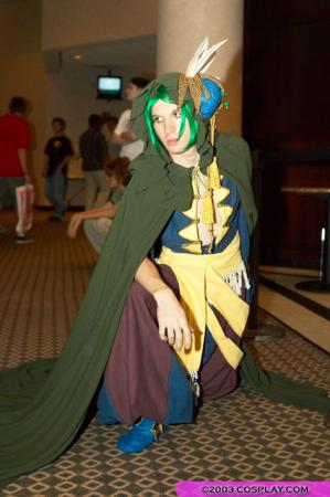 Elazul from Legend of Mana worn by Jez Roth