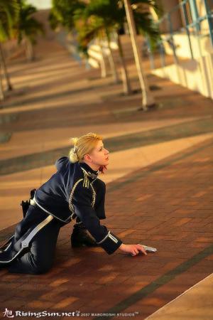 Riza Hawkeye from Fullmetal Alchemist