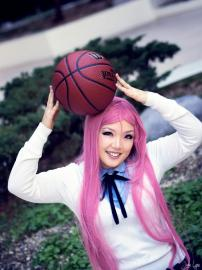 Satsuki Momoi from Kuroko's Basketball