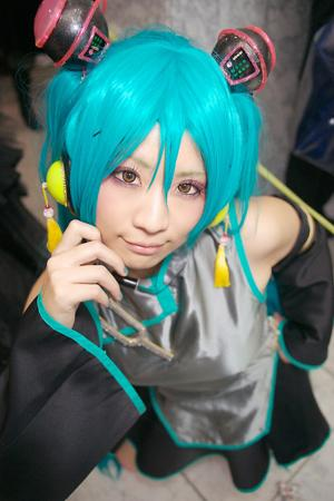 Hatsune Miku from Hatsune Miku -Project DIVA- worn by Shino Arika/有伽しの