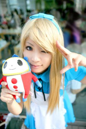 Teddie from Persona 4 worn by Shino Arika/有伽しの