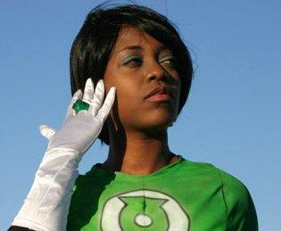 Green Lantern from DC Comics worn by Hentaigirl82