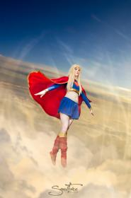 Supergirl from DC Comics worn by Melvin