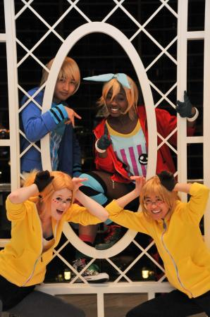 Kagamine Rin from Vocaloid 2 worn by Melvin