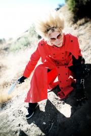 Vash the Stampede from Trigun worn by EverythingMan