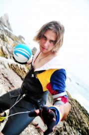 Tidus from Final Fantasy X-2 worn by EverythingMan