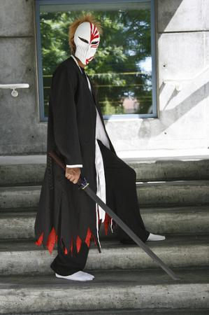 Ichigo Kurosaki from Bleach worn by Tousen