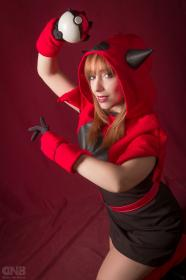 Team Magma Member from Pokemon worn by Neferet Ichigo