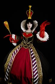 Red Queen of Hearts from Alice: Madness Returns worn by Neferet Ichigo
