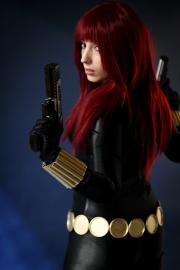 Black Widow from Marvel Comics worn by Neferet Ichigo