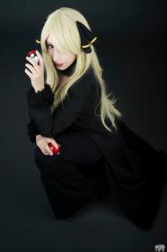 Cynthia from Pokemon  by Neferet Ichigo