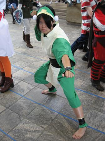 Toph Bei Fong from Avatar: The Last Airbender worn by Mae Mae Twin
