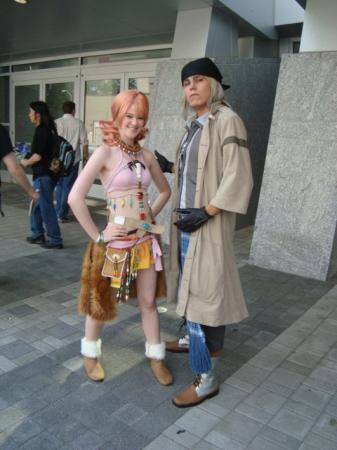 Snow Villiers from Final Fantasy XIII worn by Makyz