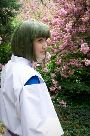 Haku from Spirited Away worn by firewolf826