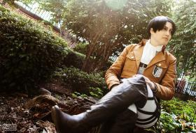 Levi from Attack on Titan worn by firewolf826