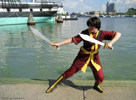 Zuko from Avatar: The Last Airbender worn by firewolf826
