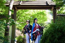 Horikawa Kunihiro from Touken Ranbu worn by Sapphire