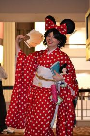 Minnie Mouse from Disney worn by Athel
