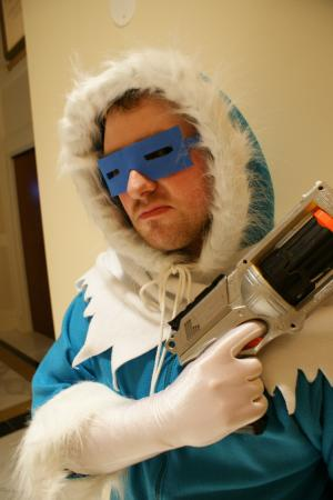 Captain Cold from DC Comics worn by Xais