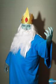 Ice King from Adventure Time with Finn and Jake worn by Xais
