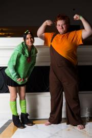 Ralph from Wreck-It Ralph worn by Xais
