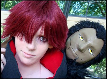 Sasori from Naruto worn by Digit