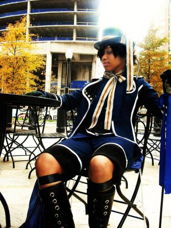 Ciel Phantomhive from Black Butler worn by Riyu Mira