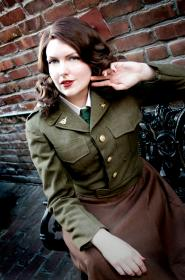 Peggy Carter from Captain America worn by Faraday